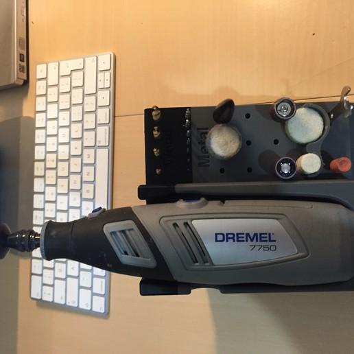 Télécharger fichier imprimante 3D gratuit Porte-outils de Dremel, OwtFromNowt