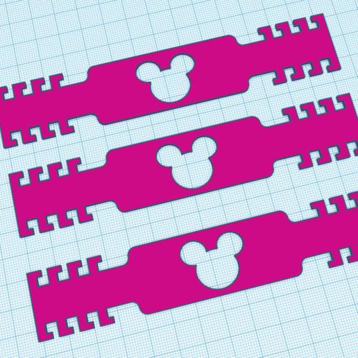 Télécharger plan imprimante 3D les clips d'extension pour souris de masque chirurgical, krmina7