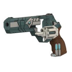 Valorant Sheriff v36V11_3.png Télécharger fichier STL Valorant Shérif Sovas • Plan à imprimer en 3D, WF3D