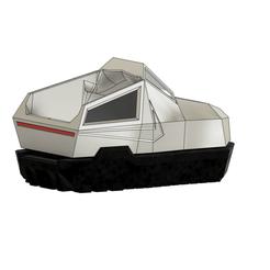 Cybershoe v2411.png Download free STL file Cybertruck Shoes • 3D print model, WF3D