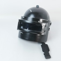 Download 3D print files PUBG Level 3 Helmet, WF3D