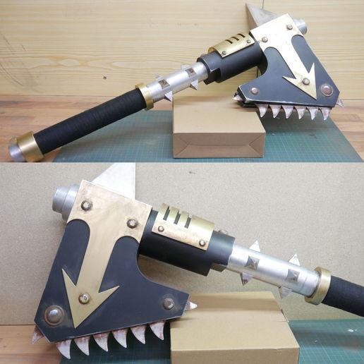 Télécharger plan imprimante 3D Warhammer 40k Chainaxe, WF3D