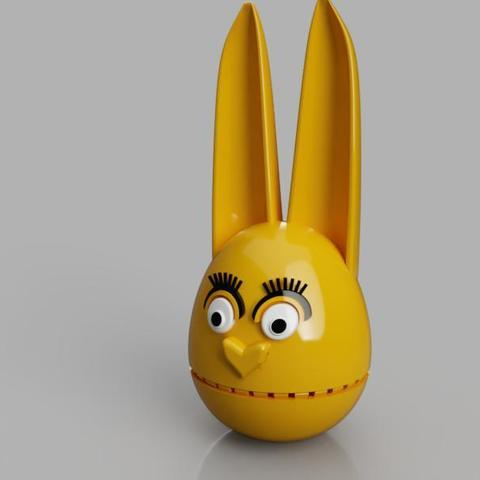 Free 3D model Easter bunny, TomasTN