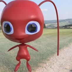 Descargar modelos 3D para imprimir Tikky, personaje de Miraculous Ladybug, TomasTN