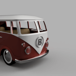 Download 3D printer designs VW Van for Lego Friends characters, TomasTN