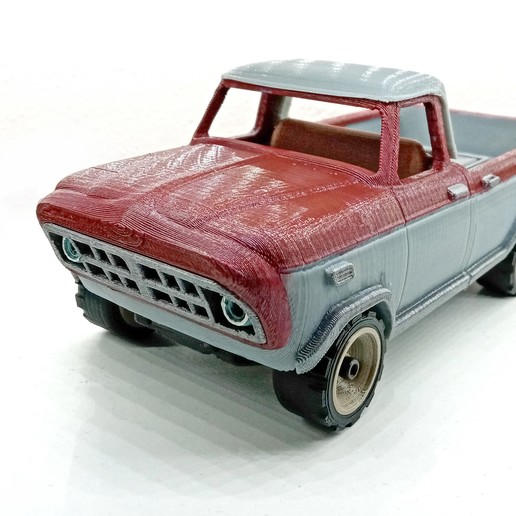Download STL file Fortnite pickup truck • 3D printing template, TomasTN