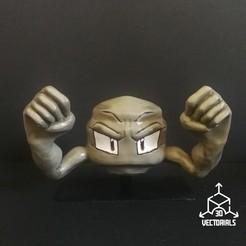 IMG_20200627_174725.jpg Télécharger fichier STL Pokémon (Géodude) • Design pour imprimante 3D, DREAMS