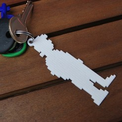 3d printer files Monkey Island Guybrush Threepwood keyrings, 3dsc