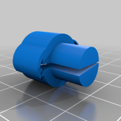 Petit_plug_clips.png Download free STL file Small coral plug to clip • 3D printable template, alexbayle3