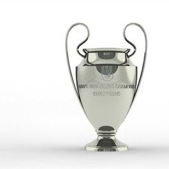 Download 3D printing models UEFA Champions League Trophy, IM3D