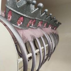 Download 3D printer designs Princess' crown, IM3D