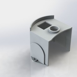 Download 3D printing designs Vibrator Motor Cover, IM3D