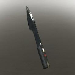 3D print model Knife, IM3D