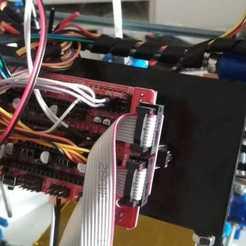 Télécharger fichier STL gratuit Base arduino mega Huxley • Design imprimable en 3D, latriplec