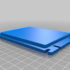 3a8c5046cde04c1805696555e4ed702d.png Download free STL file Blind wallet cover, bill reader top • 3D print template, latriplec
