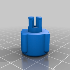 b3720df2a6478e0a04fd13be2b52640f.png Download free STL file Brown group screw head • 3D printable model, latriplec