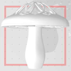 Download 3D model Fungus mushroom, hesshookr