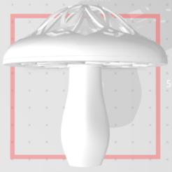 Descargar archivos STL Fungus mushroom, hesshookr