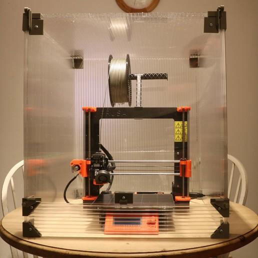 Download 3D printing files 3D Printer Cabinet / Enclosure, Aeropunk3d