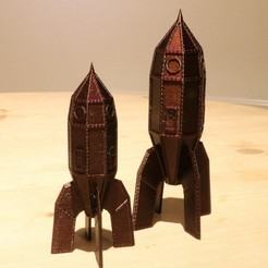 Download free 3D printer files Steampunk Rocket, Aeropunk3d