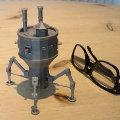 Free 3D print files Steampunk Mobile Turret, Aeropunk3d