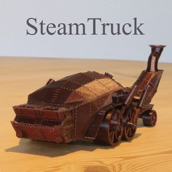 IMG_2692.JPG Download STL file Steampunk Truck • 3D print design, Aeropunk3d