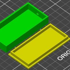 boite.JPG Download free STL file Box for electronic module • 3D print template, jhau