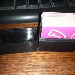 Download free STL card box, card box for storing cards, card box, jhau