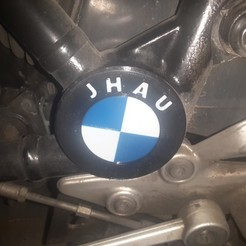 Download free 3D printer designs motorcycle hole cap 1200 RS BMW, jhau