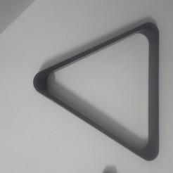 20191201_212801.jpg Descargar archivo STL gratis Soporte de billar triangular • Diseño para impresión en 3D, jhau
