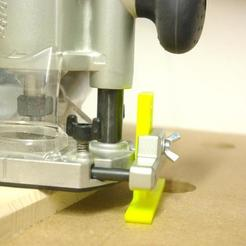 Download free 3D printer designs Support Foot for Makita Router (or others), MrFuzzyF
