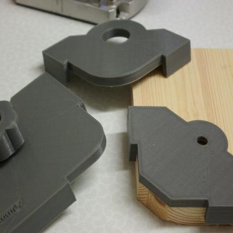 Diseños 3D gratis Dispositivo de radio de esquina definitivo para enrutador (personalizable), MrFuzzyF