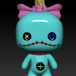 Captura de Pantalla 2019-11-19 a la(s) 22.10.36.png Download STL file Funko Scrump Lilo and Stitch • 3D printing design, tridymexicoprints