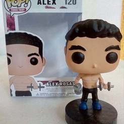 66343250_334562127468637_6502154438273138688_n.jpg Download STL file Funko POP Custom Bodybuilder • 3D printer design, tridymexicoprints