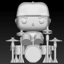 Captura de Pantalla 2020-09-30 a la(s) 14.27.08.png Télécharger fichier STL Funko Pop Drummer Ensemble Tête et batterie • Objet pour impression 3D, tridymexicoprints