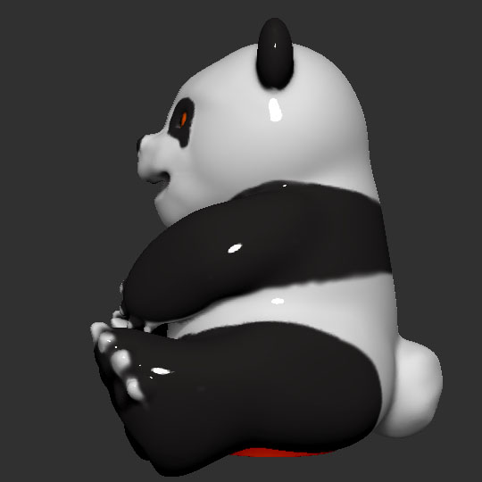 side2.jpg Télécharger fichier STL gratuit Banque de pièces de monnaie Panda • Plan pour impression 3D, LittleFriend