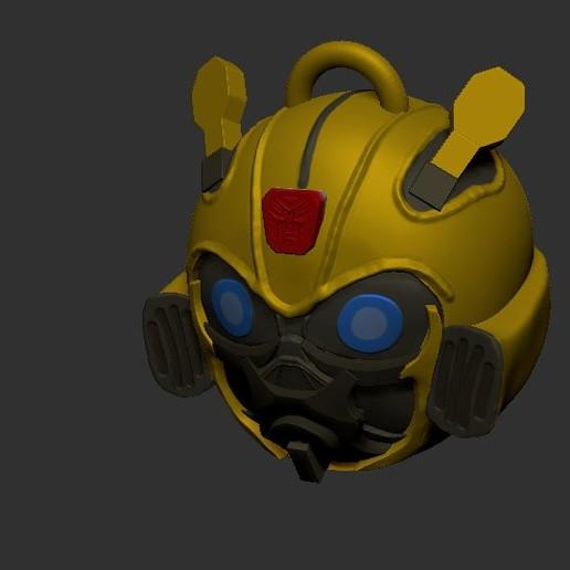 Télécharger objet 3D Porte-clés Bumblebee (Mis à jour), LittleFriend