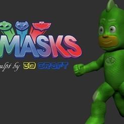 Download STL file PJ Mask Gekko, LittleFriend