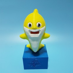Download 3D print files Baby Shark Coin Bank, LittleFriend