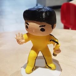 20190426_171828.jpg Télécharger fichier STL Bruce Lee • Design à imprimer en 3D, LittleFriend