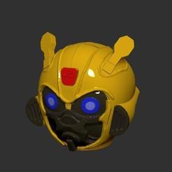 Télécharger fichier impression 3D Bumblebee Banque de pièces de monnaie, LittleFriend