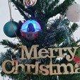 Download 3D print files Baby Vadar Christmas LED Ornaments , LittleFriend