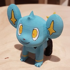 Download 3D printer designs Pokemon Shinx, LittleFriend