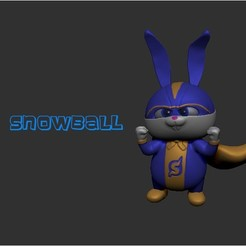 snowball.jpg Download STL file Snowball  • 3D printer design, LittleFriend