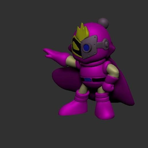 Download STL file Bomberman, LittleFriend