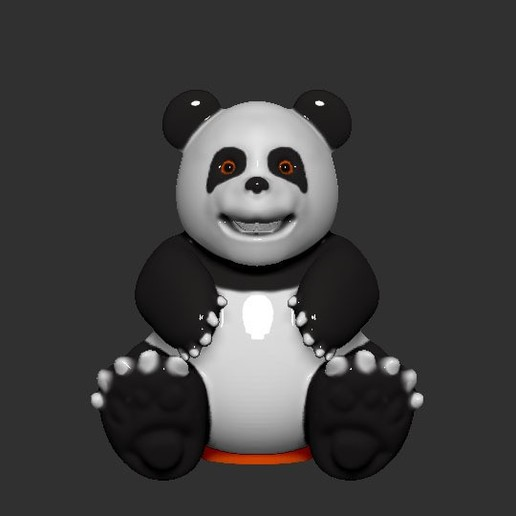 Télécharger fichier STL gratuit Banque de pièces de monnaie Panda, LittleFriend