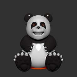 Download free STL file Panda Coin Bank, LittleFriend