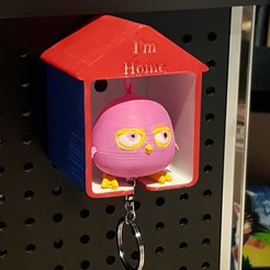 STL 3D Craft Bird Key Home , LittleFriend