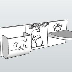 Télécharger plan imprimante 3D gatuit Organisateur de salle de bains, LittleFriend