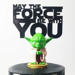 Télécharger objet 3D Star Wars Cake Topper, LittleFriend